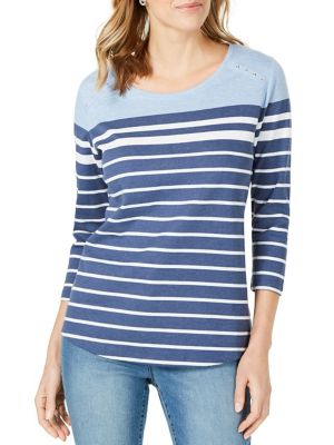 df751d758878 Karen Scott | Women - Women's Clothing - Tops - thebay.com