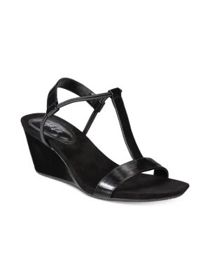 cc1900bbe2f Open-Toe Wedge Sandals BLACK. QUICK VIEW. Product image