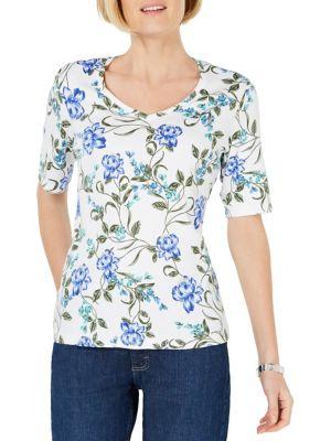 3d4b9d54 Karen Scott | Women - Women's Clothing - Tops - T-Shirts & Knits ...