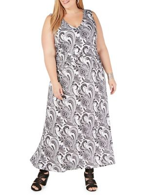2d535b865f6 QUICK VIEW. I.N.C International Concepts. Plus Printed Maxi Dress