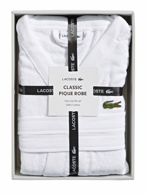 Product image. QUICK VIEW. Lacoste. Classic Pique Robe.  125.00. Now  81.25  -  125.00 · Fairplay Velour Robe WHITE 1f30ee135