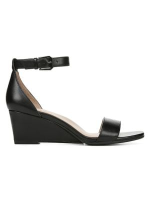1756031f605c QUICK VIEW. Naturalizer. Zenia Leather Wedge Sandals