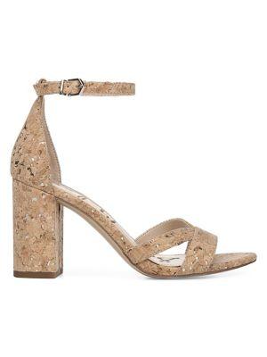 68de9f61f2 Product image. QUICK VIEW. Sam Edelman. Omar Natural Cork Heeled Sandals