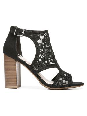 35bc555a42a QUICK VIEW. Fergalicious. Women s Crochet Heel Sandals
