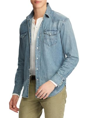 c38f0d13a4ce0 Polo Ralph Lauren   Homme - Vêtements pour homme - Chemises tout ...