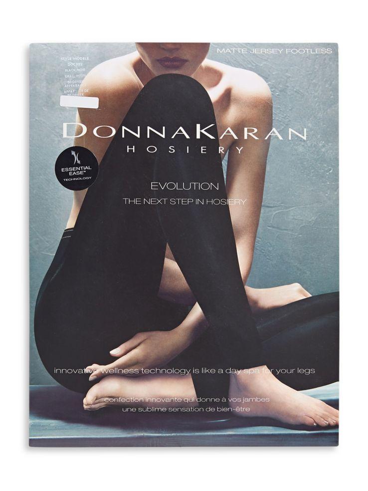 41a1aaa144 Donna Karan - Evolution Matte Jersey Footless Tights - thebay.com
