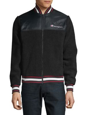 0abf95ff9 QUICK VIEW. Champion Reverse Weave. Textured Logo Jacket