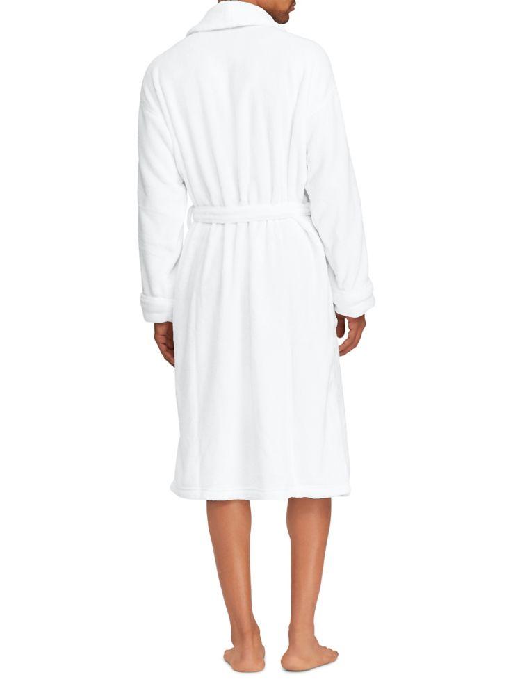 Polo Ralph Lauren - Peignoir en micromolleton - labaie.com 45d160fe6869