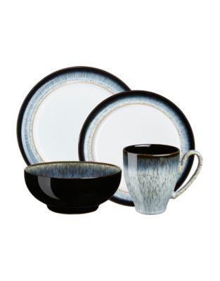 White By Denby 4 Piece profonde Noodle Bowl Set