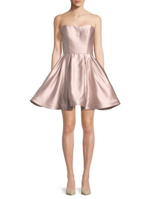 ed9cc5b2340 Product image. QUICK VIEW. Betsy   Adam. Short Sweetheart Strapless Dress