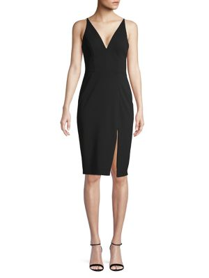 895aa5637928 QUICK VIEW. Betsy   Adam. Sleeveless Bodycon Sheath Dress
