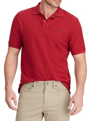 d02757b04 Short-Sleeve Cotton Polo RED. QUICK VIEW. Product image