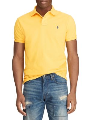 c74b284a3 QUICK VIEW. Polo Ralph Lauren. Custom Slim-Fit Cotton Polo
