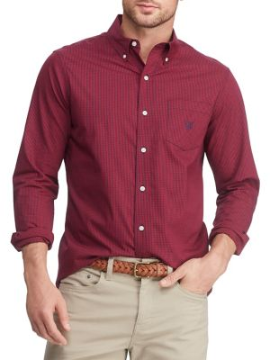 c00488b66 QUICK VIEW. Chaps. Big & Tall Easy-Care Stretch Button-Down Shirt