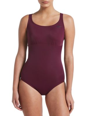 5f02b5c0675643 QUICK VIEW. Nike Swim. Solid Epic Racerback One-Piece Swimsuit. $98.00.  discount applied at checkout. Flash ...