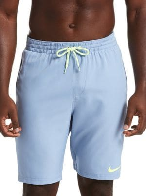 8737c61622 Nike - Logo Splice Racer Volley Shorts - thebay.com