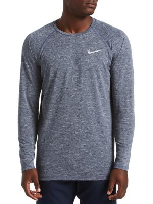 14dcca089fe641 Product image. QUICK VIEW. Nike. Heather Long-Sleeve Hydroguard.  56.00 Now   42.00 · Split Volley Short BLACK