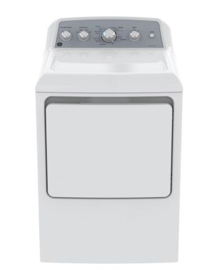 GTD45EBMKWS 7.2 cu ft. Top Load DuraDrum2 Electric Dryer White photo