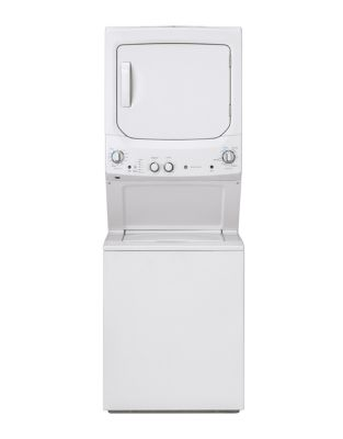 GUD24ESMMWW Spacemaker Washer and Electric Dryer - White photo