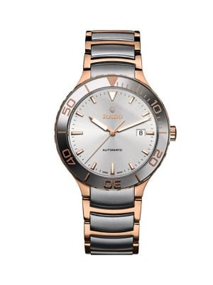 10a04e7c3 Product image. QUICK VIEW. Rado. Centrix Stainless Steel Automatic Watch.  $2,450.00 · Swiss Automatic True Open Heart Grey Ceramic Bracelet ...