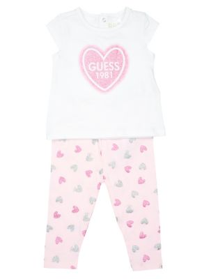 651af45e2b2ac Product image. QUICK VIEW. GUESS. Baby Girl's 2-Piece Printed Tee & Leggings  Set
