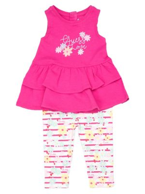 3c9124c15d0ff Baby Girl s 2-Piece Printed Top   Leggings Set JALUS PINK. QUICK VIEW.  Product image