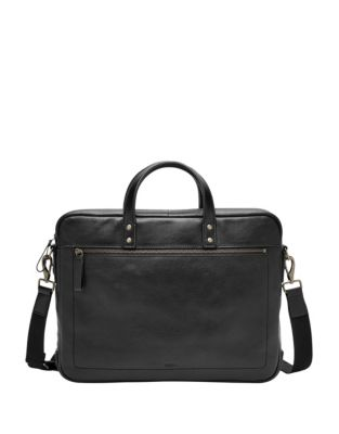 QUICK VIEW. Fossil. Defender Leather Briefcase