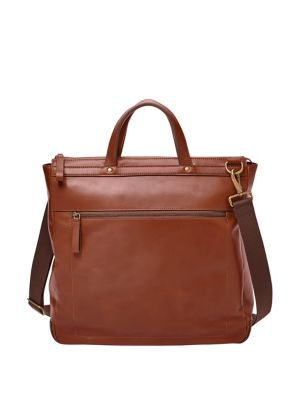 6a44545af Fossil. Buckner NS Leather City Bag. $248.00 · Haskell Top-Zip Leather Work Bag  COGNAC. QUICK VIEW. Product image
