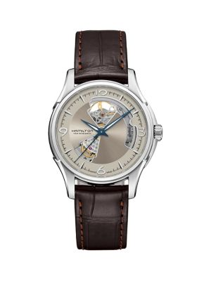 c4ad96938 Product image. QUICK VIEW. Hamilton. Jazzmaster Open Heart Automatic Watch.  $995.00 · Jazzmaster Thinline Stainless Steel & Leather-Strap ...