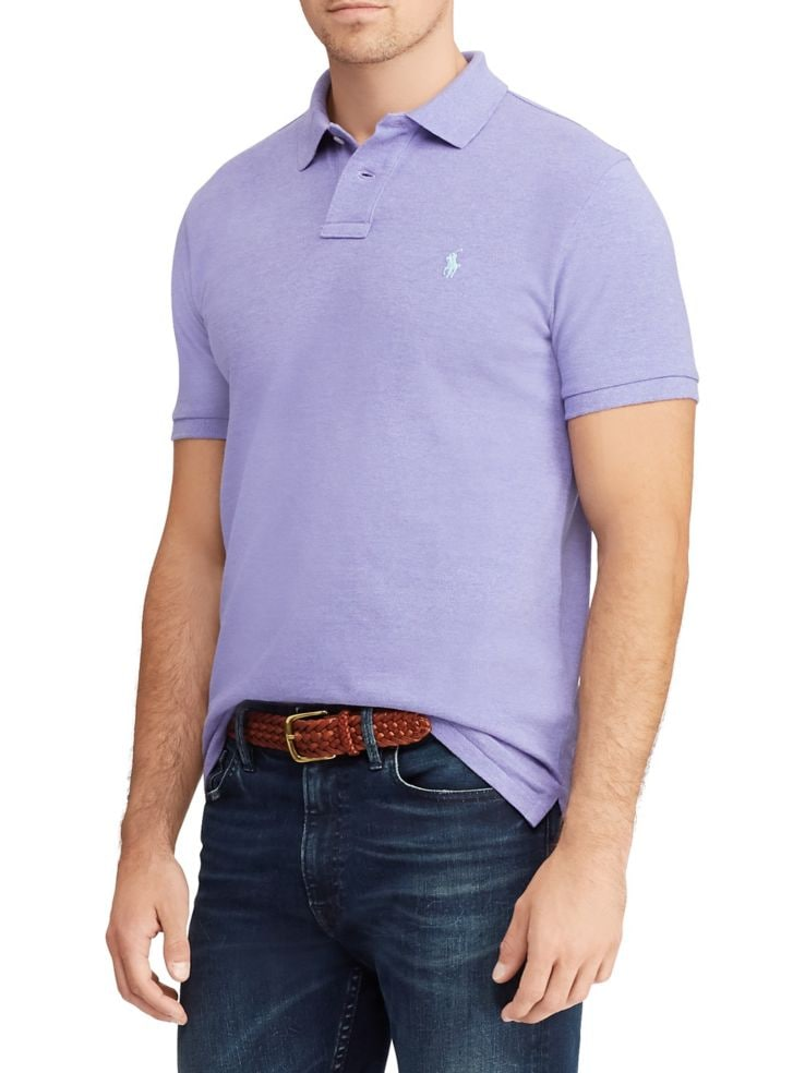 7688a61d0e5 Polo Ralph Lauren - Custom Slim-Fit Mesh Polo - thebay.com