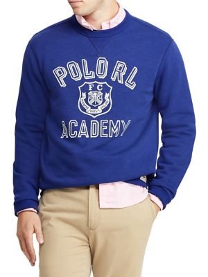 678b08fafca6 Graphic Fleece Sweatshirt BLUE. QUICK VIEW. Product image. QUICK VIEW. Polo  Ralph Lauren