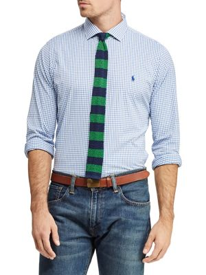 cf856e6e Product image. QUICK VIEW. Polo Ralph Lauren. Checkered Classic-Fit  Performance Shirt