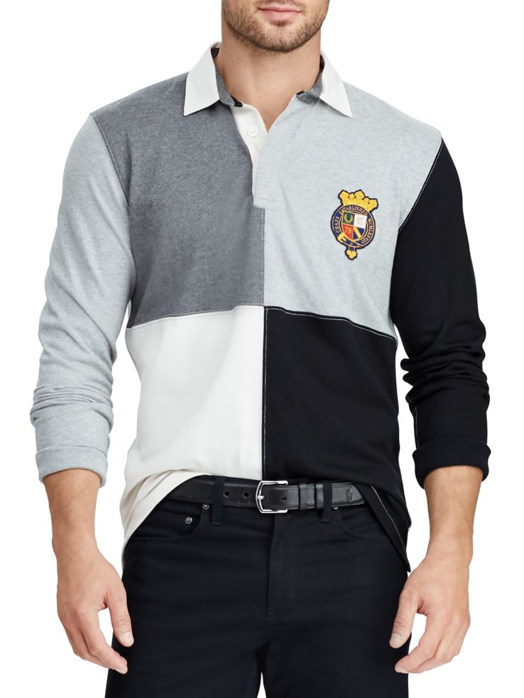d6eed2f8c7a Chaps - Heritage Collection Striped Rugby Shirt - thebay.com