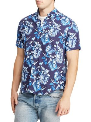 6b432885 QUICK VIEW. Polo Ralph Lauren. Hawaiian Classic-Fit Oxford Shirt
