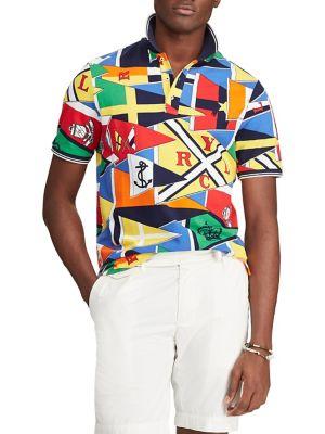 5dcee1b2 QUICK VIEW. Polo Ralph Lauren. Classic-Fit Mesh Cotton Polo Shirt
