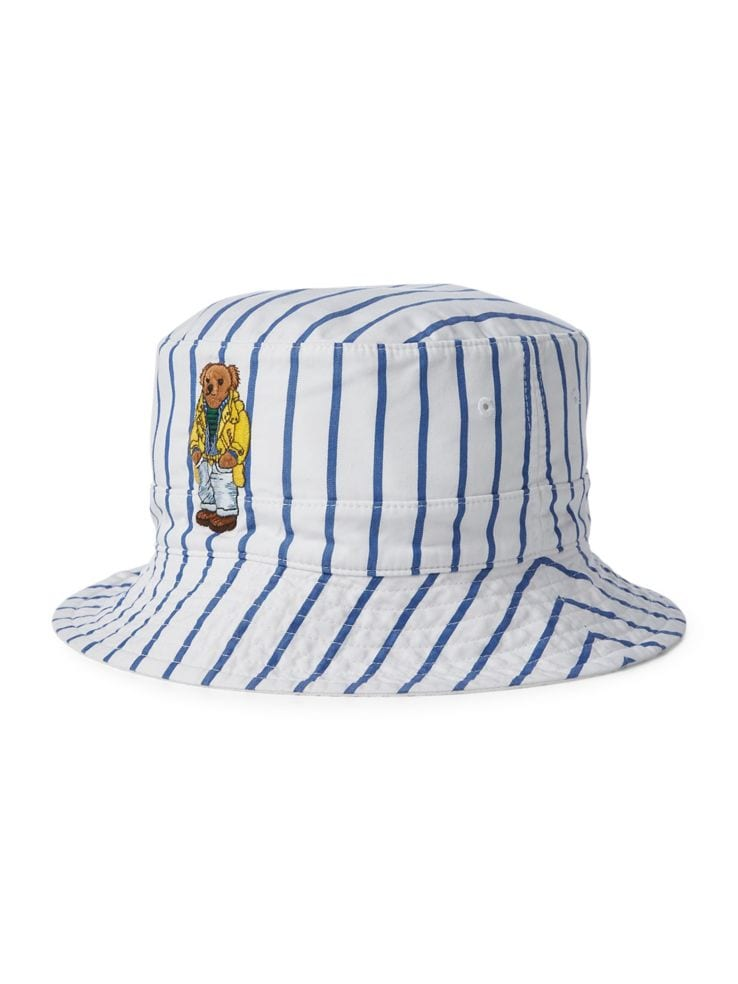 14067f34 Polo Ralph Lauren - Reversible Crested Cotton Bucket Hat - thebay.com