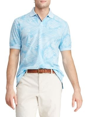 34614b7c7 Product image. QUICK VIEW. Chaps. Short Sleeve Cotton Polo Shirt