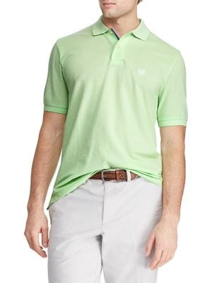 ab74e6ceb99 Product image. QUICK VIEW. Chaps. Short Sleeve Cotton Polo Shirt
