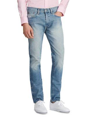 21eaebc39 QUICK VIEW. Polo Ralph Lauren. Slim-Fit Distressed Jeans