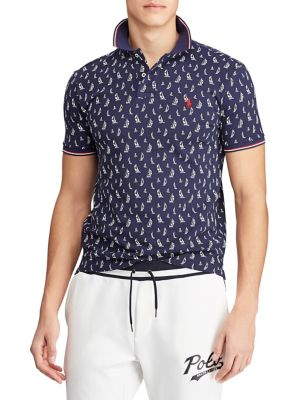 67e4e4773 Product image. QUICK VIEW. Polo Ralph Lauren. Classic-Fit Printed Polo