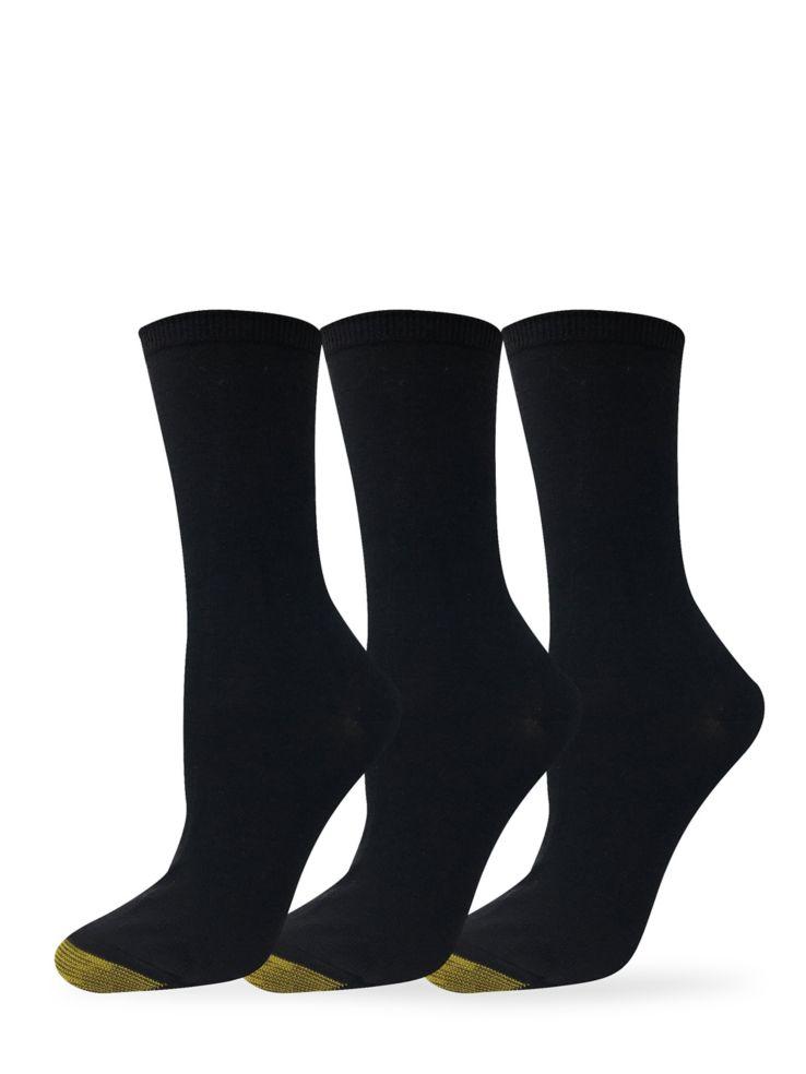 dbc53a9d0ef Gold Toe - Chaussettes mi-mollet Casual pour femme
