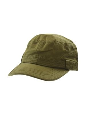 a197c3889b1ab QUICK VIEW. Black Brown 1826. Adjustable Canvas Army Cap