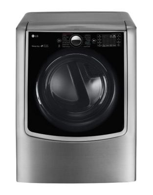 DLEX9000V - 9.0 cu. ft. Mega Capacity Electric SteamDryer with TurboSteam Technology photo