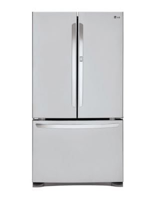 LFCS25663S 33 in. 25 cu. ft. French Door Refrigerator with Door-in-Door Design- Stainless Steel photo
