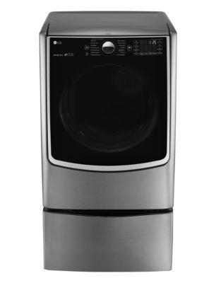 DLEX5000V 7.4 Cu. Ft. Ultra Large Capacity Electric Steam Dryer in Graphite Steel photo