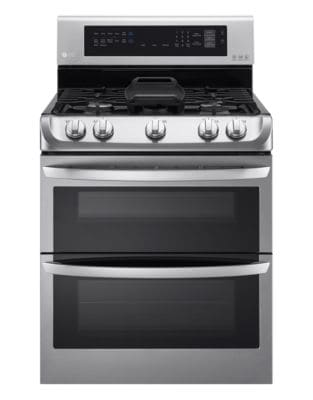 LDG5315ST 6.9 Cu. Ft. Gas Double Oven Range in Stainless Steel photo