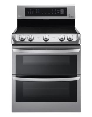LDE5415ST 7.3 Cu. Ft. Electric Double Oven Range in Stainless Steel photo