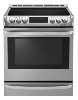 LSE5615ST 6.3 Cu. Ft. Electric Slide-In Range in Stainless Steel photo