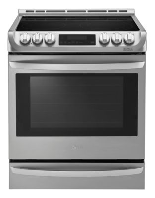 LSE5613ST 6.3 Cu. Ft. Slide-In Electric Range in Stainless Steel photo