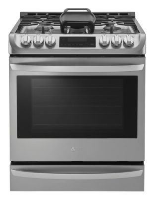 LSG5513ST 6.3 Cu. Ft. Slide-In Gas Range in Stainless Steel photo
